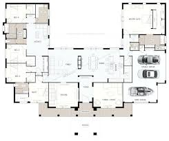 floor plans for 5 bedroom homes big family house plans floor plan u shaped 5 bedroom family home
