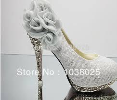 wedding shoes bottoms brand women wedding shoes flowers bottoms platform wedge high heels