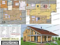 plan maison etage 4 chambres 1 bureau plans de maisons gratuits et modèles de maisons bois chalets en