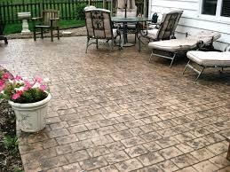 Decorative Concrete Patio Contractor Patio Ideas Stamped Concrete Patio Medina Ohio Stamped Concrete