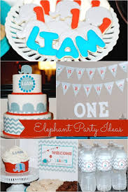 1st birthday party themes for boys sweet elephant themed boy s birthday party spaceships and