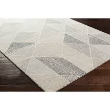 Brown And White Area Rug Modern Brown Area Rugs Allmodern