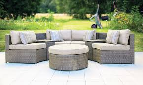 Gray Wicker Patio Furniture by Patio Amusing All Weather Outdoor Furniture Wicker Furniture