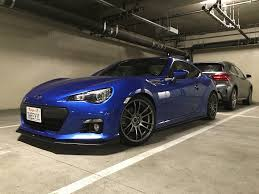 ricer subaru brz lowering with lip kit scion fr s forum subaru brz forum