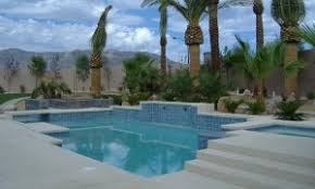 Backyard Landscaping Las Vegas Las Vegas Swimming Pools Design Is Easy With One Stop Shop Las