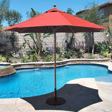 Large Umbrella For Patio Best Patio Umbrella For Windy Area November 2017