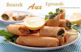 bonoise cuisine boureks aux epinard et viande hachee
