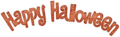 happy halloween image happy halloween text transparent png png mart