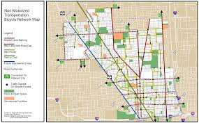 Map Of Detroit Michigan Royal Oak Rolls Out Bicycle Network Map Complete Streets