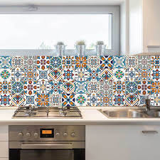 Wall Stickers And Tile Stickers by Decorative Tiles Stickers Motril Pack Of 16 Tiles Tile Decals