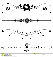 exquisite ornamental and page decoration designs stock vector