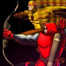 the flash fan art and reverse flash fan art by themikidusbalox on deviantart