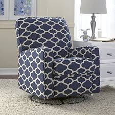 Small Swivel Chairs For Living Room Awesome Swivel Recliner Chairs For Living Room At