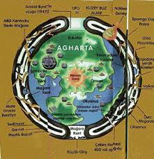 agartha map a top secret revealed to humanity