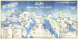 Alps On A Map Anleitung Für Das Gratis Wochenende Bei Steep Hol Dir Die