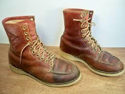 montgomery wards powr house men u0027s leather work chukka boots soft