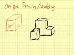 oblique sketches youtube