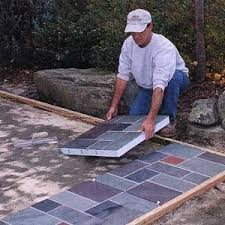 Slate Patio Designs Exterior Slate Tile Home Designs Ideas Tydrakedesign Us
