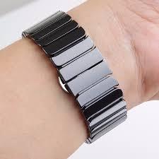 ceramic link bracelet images High quality ceramic watchband original link bracelet strap jpg