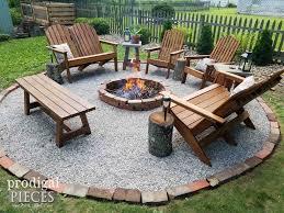 Diy Firepit Diy Pit Backyard Budget Decor Prodigal Pieces