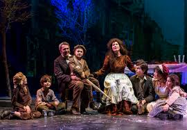the cratchit family left to right marie sullivan cratchit twin