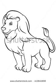 coloring in pages animals coloring pages animals stands stock vector 413641690