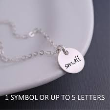 design your own necklace design your own small pendant necklace silver georgie