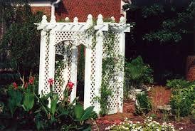 ways to add backyard shade with vinyl lattice