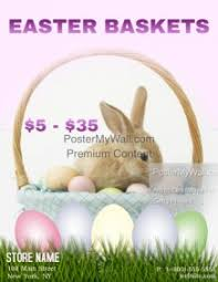 easter baskets for sale customizable design templates for easter basket postermywall