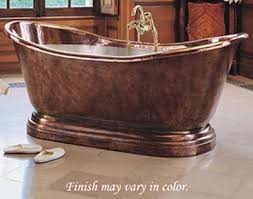 Copper Bathtubs For Sale Hand Hammered Copper Bathtubs Rustic Bathtubs Houston Copper