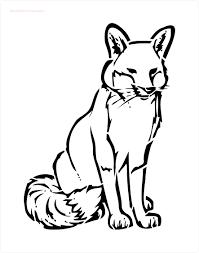 fox stencil to buy online now
