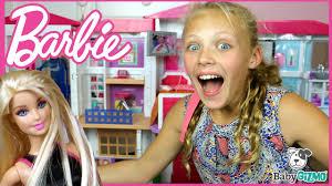 new barbie hello dreamhouse full house tour u0026 unboxing youtube