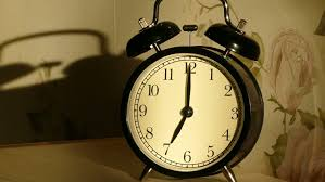 alarm clocks ringing one by one until all are clanging away sound