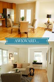 how to fix awkward spaces home staging tips by staged by design