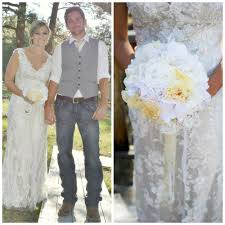 wedding dress and cowgirl boots wedding dress ideas