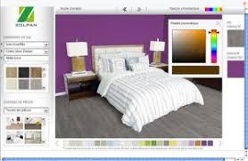 simulation couleur chambre simulateur couleur revêtement de sol dans chambre