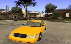 crown victoria taxi 2003 for gta san andreas