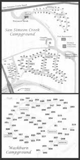 Pedernales Falls State Park Map by San Simeon Sp