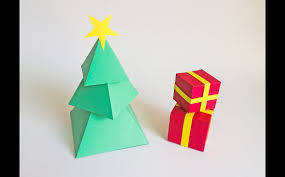 diy christmas tree 3d papercraft templates creative market