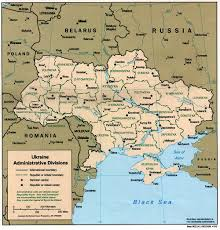Map Of Ukraine And Crimea Ukraine