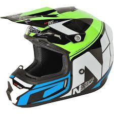 blue motocross helmet nitro mx600 holeshot u2013 speed demon