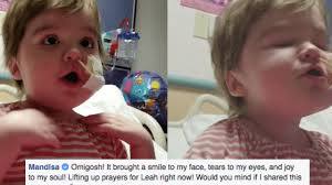 Triumphant Baby Meme - fierce little girl with rare illness sings overcomer and the