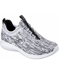 Skechers Comfort Construction Snag This Holiday Sale 27 Off 12831 White Black Skechers Shoe