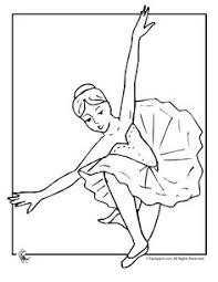 difficult coloring ballerina dancer older kids