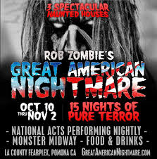 halloween city south gate rob zombies great american nightmare halloween attraction