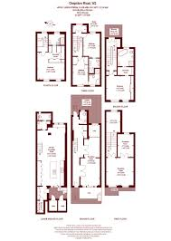 grand connaught rooms floor plan 4 bed terraced house for sale in chepstow road london w2