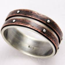 promise ring for men shop men s rustic rings on wanelo