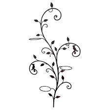 decorative wrought iron wall planter tree at 1stdibs
