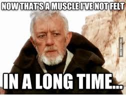 Star Wars Sex Meme - now thatsa muscle ive not felt in along time muscles meme on me me