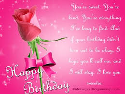 beautiful birthday message for someone special greetings